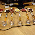 6 Ambassasors Tasting : Glazen, Whisky Tubes en Hapjes