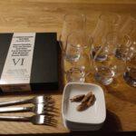 6 Ambassasors Tasting : Lege Glazen en Lege Hapjes Schaaltjes