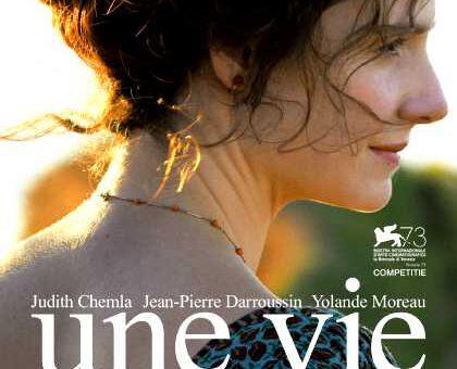 Film : Une Vie (2016)
