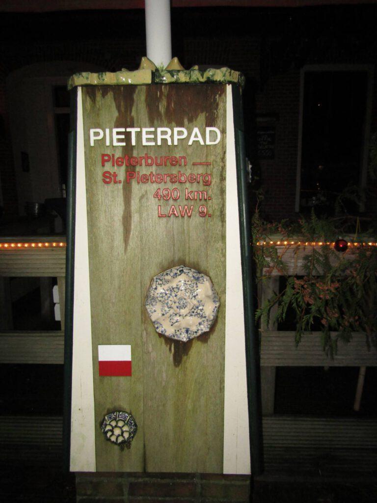 Het Pieterpad Startpunt in Pieterburen