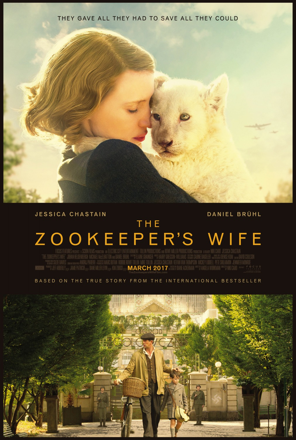 Film : The Zookeeper's Wife (2017)